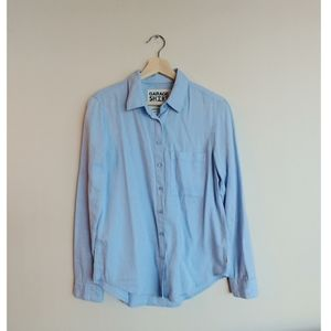 GARAGE Denim Button Down Shirt